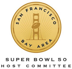 San Francisco Bay Area Super Bowl 50 Host Committee Logo