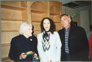 Doctor Cox with Joyce Carol and Paul Douglass
