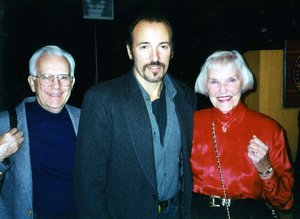 Bruce Springsteen with Art Ring and Martha Cox 1996