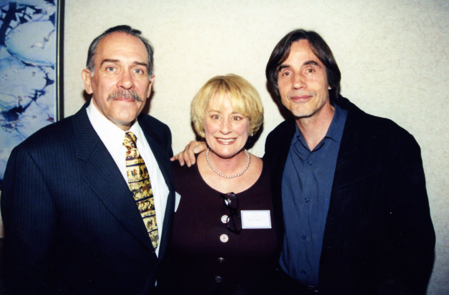Thom and Gail Steinbeck with Jackson Browne