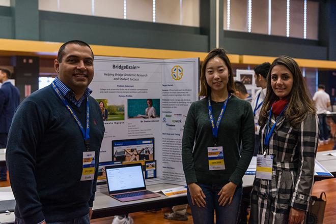 BrainBridge team. Best educational innovation winners.