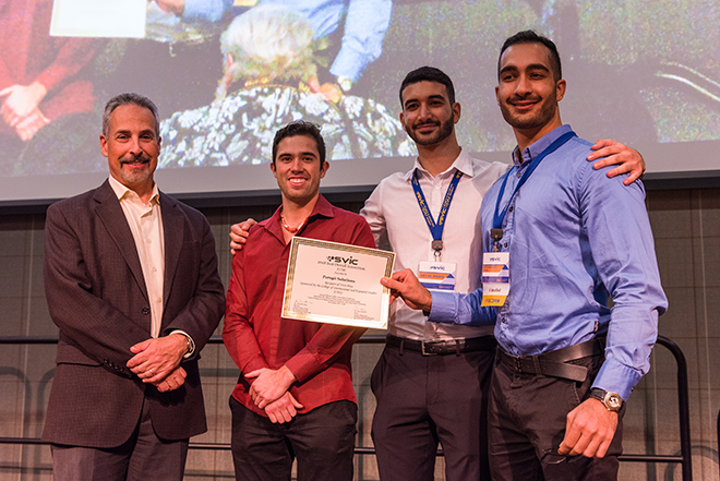 1st Place winners, Paragit Solutions.