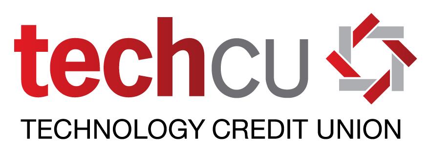 Tech CU logo; Technology Credit Union.