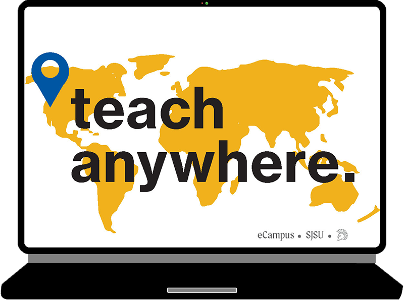 eCampus Teaching Anywhere banner image