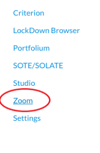 Zoom option on Canvas
