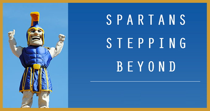 spartans stepping beyond