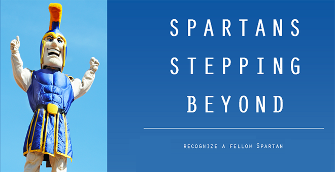 Spartan Stepping Beyond