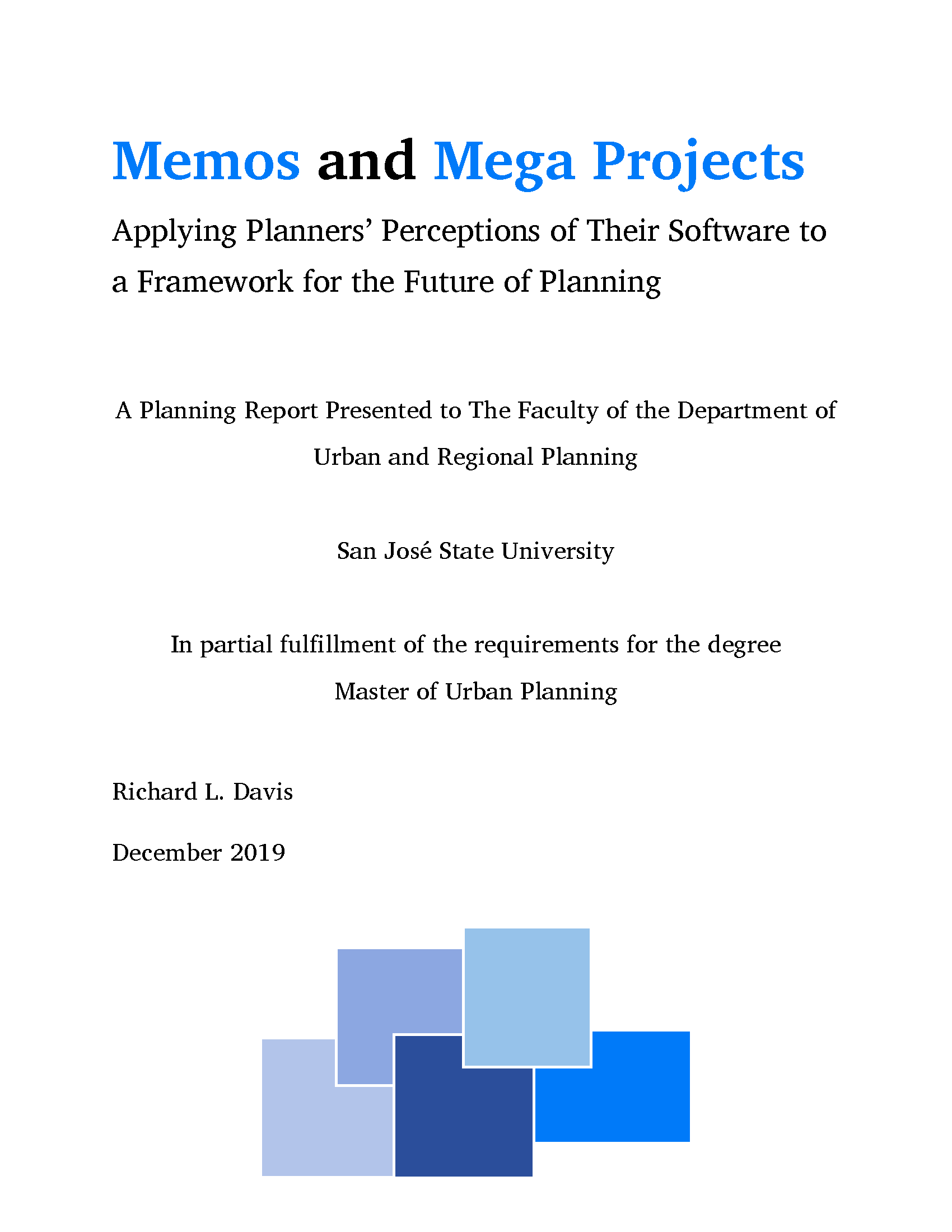 Memos & Megaprojects