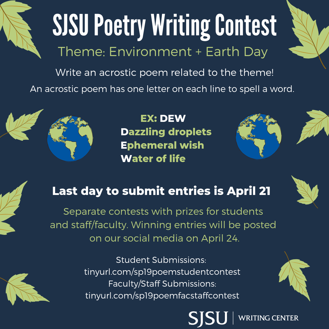 2019 Poetry Contest Graphic